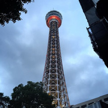 あいにくの天気でもタワーは素敵でした!