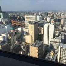 28階からの眺めは最高!