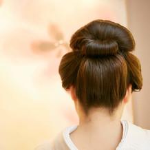 念願の新日本髪