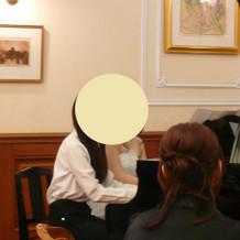 生のピアノ演奏