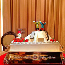 私達のケーキ