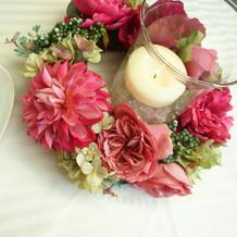 外庭テーブル