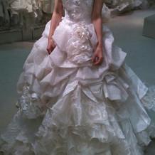 可愛過ぎた白ドレス