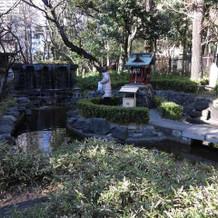 赴きのある庭園