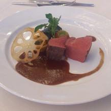 牛肉(ポワレ)