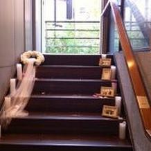 チャペルへの階段