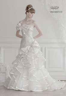 マーメイドタイプのウェディングドレス