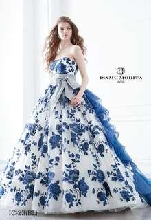 ISAMU MORITAのカラードレス!
