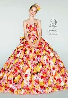 蜷川実花デザインのカラードレス B10-201497
