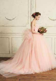 【Cinderella & Co.】スモーキーピンクのカラードレスSS5982SP