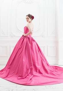【Cinderella & Co.】ラズベリーピンクのカラードレスSS5523LP