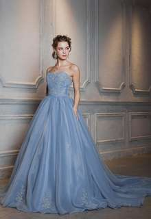 【Cinderella & Co.】ブルーグレーカラードレス SS4592BG