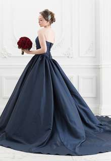 【Cinderella & Co.】ネイビーのカラードレスSS5520NV