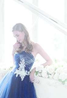 銀座三越オリジナルネイビードレス