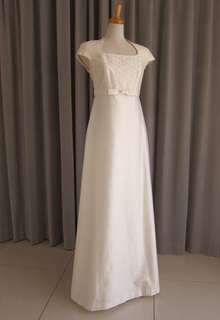 Embroidery silk shamtumg dress