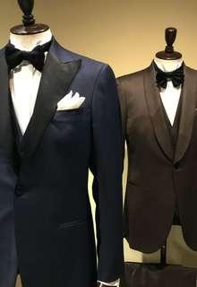 Knox & Taylor original TUXEDO textile by LORO PIANA