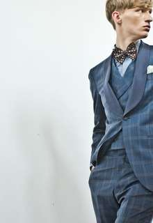 Knox & Taylor original TUXEDO textile by DORMEUIL
