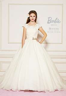 【Barbie BRIDAL】 BB-198 Off White