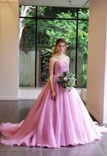 【Cinderella & Co.】グレイッシュパープルのカラードレスSS4592GPU