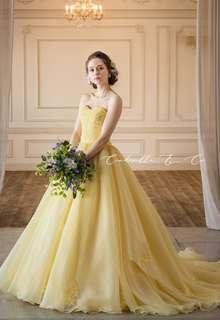 【Cinderella & Co.】イエローカラードレスSS4592YE