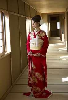 赤引 松に鶴