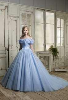 NO.シンンデレラブルードレス 「シンデレラ」のようなカラードレス