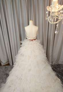 シルクのウェディングドレス2wey