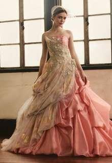 HARTNELLロンドンのカラードレス