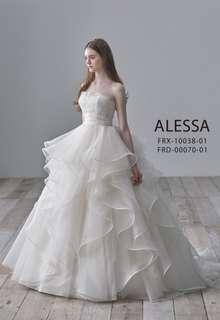 ALESSAのインポートウエディングドレス
