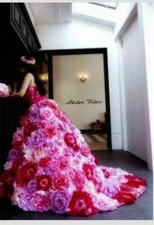 お花ドレス CD-34
