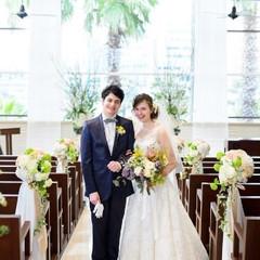 やわらかな自然光が差し込むチャペルでアットホームな挙式を。『徳島』で『結婚式』を挙げるなら『ザ・パシフィックハーバー』へ。