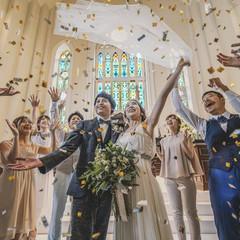 カタチにとらわれず、おふたり結婚式を!自由に★