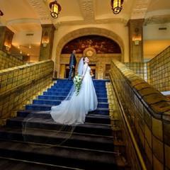 和装も洋装も映える大階段
