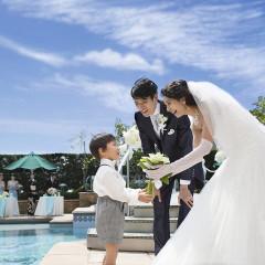 お2人のご結婚を小さな天使君も祝福してくれています☆