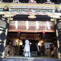 重要文化財にも指定されている日光東照宮「祈祷殿」での豪華爛漫な結婚式