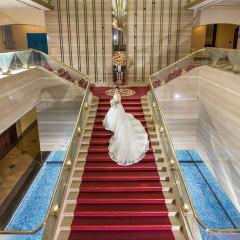 ラヴィーナのシンボル、大階段!壮大なお写真を残せます