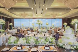 ホテルの上品さと高級感を備えた5つのパーティー会場