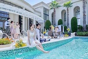 海辺のガーデン付きの貸切邸宅でリゾート気分を満喫!