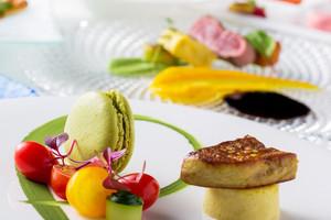 ノートルダム神戸のコース料理