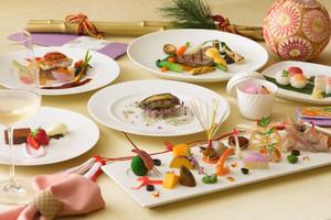 こだわりのフレンチと日本料理の融合は感動満載