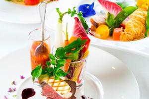 ホテル メルパルク大阪の料理