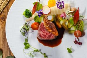 世界大会銀メダリストシェフが手掛ける最高峰のお料理