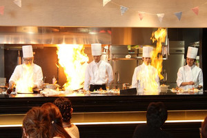 レストランでも大人気!クリスタルリゾート自慢のお料理!