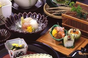 会食プランに含まれるコース(京懐石)