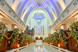 本格挙式が叶うセントミッシェルの「独立型大聖堂」