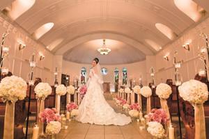 2000組のカップルが挙式を挙げた聖なる教会