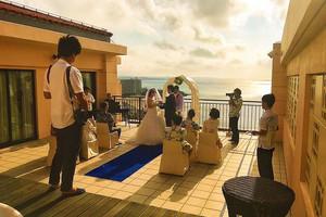 カフーリゾートホテル全体&ビーチ