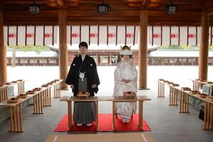 橿原神宮 内拝殿 慶びの日!
