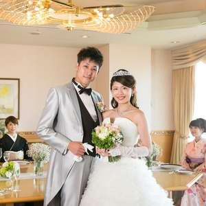 ホテル最上階の小さな結婚式