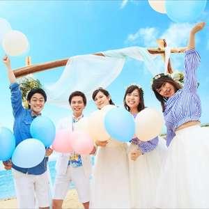 <幻のビーチ挙式>6名648,000円☆パーティープラン